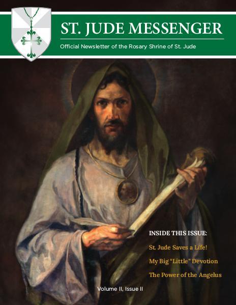 St. Jude Messenger Volume II, Issue II