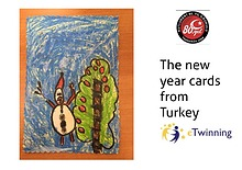 The new year cards from Turkey