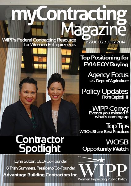 WIPP's myContracting Magazine July 2014