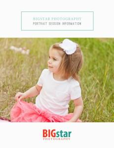 BigStar Photography Client Guide Family & Children Volume